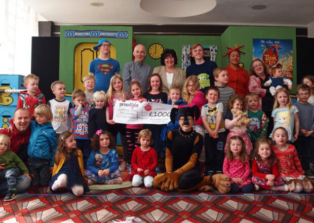 SJT Outreach £1000 Donation