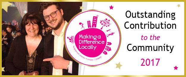 """Proudfoot Awarded for """"Outstanding Contribution To The Community"""""""