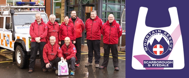 Scarborough & Ryedale Mountain Rescue Carrier Bag Proceeds
