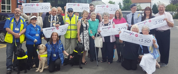 Yorkshire Day MADL Donation To 7 Local Causes