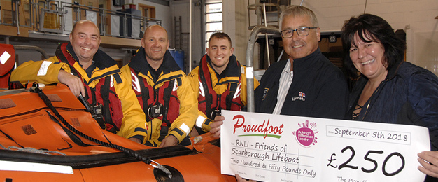 RNLI Scarborough MADL Donation