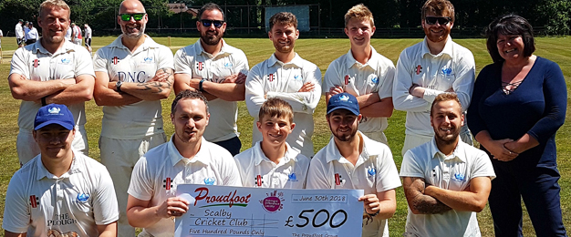 MADL Donation To Scalby Cricket Club
