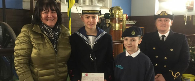 Proudfoot Donation To Scarborough Sea Cadets