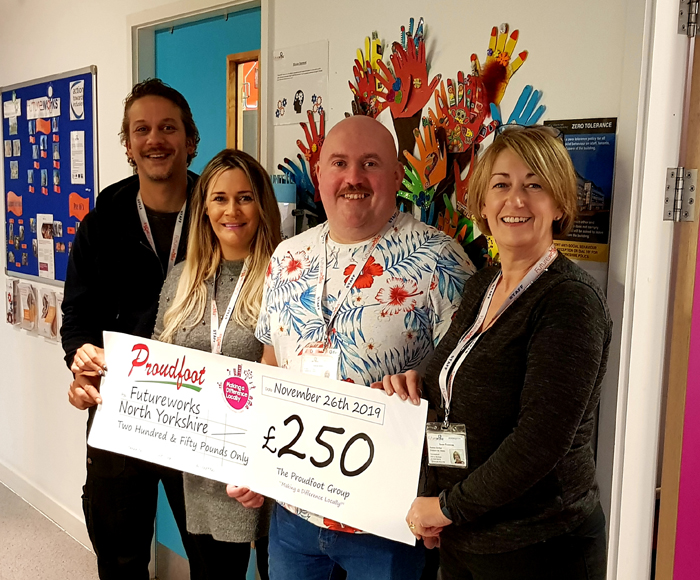 £250 MADL Donation To Futureworks