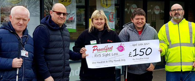 Proudfoot Support RVS Sight Loss