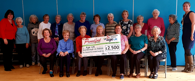 Proudfoot Support Local Age UK Branch