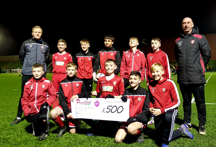 Proudfoot Give Scarborough Athletic Under 13s Trip Of A Lifetime