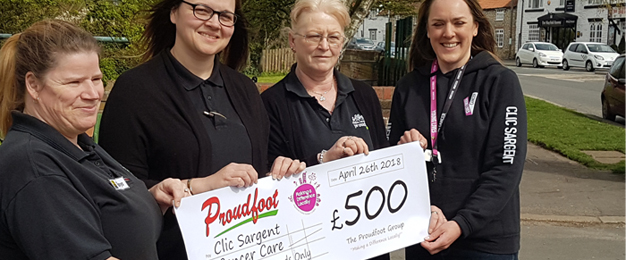 Clic Sargent MADL Donation