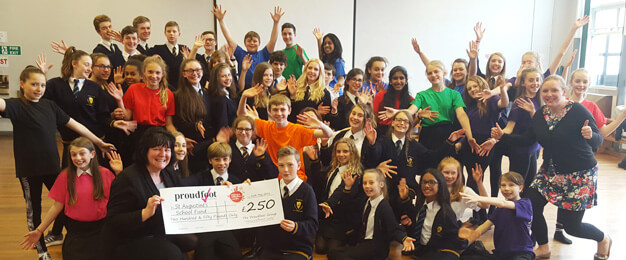 St Augustines School £250 Donation