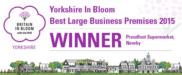 Proudfoot Supermarket Newby Winner Yorkshire In Bloom 2015
