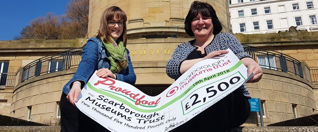 £2,500 Donation To Scarborough Museums Trust