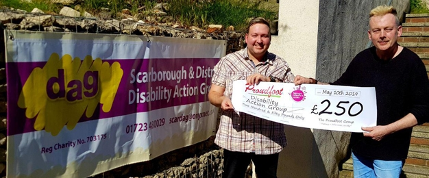 Proudfoot Supermarkets Celebrate Disability Action Group Scarborough
