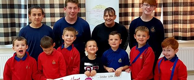 £250 Donation To Boys Brigade 2nd Scarborough Company