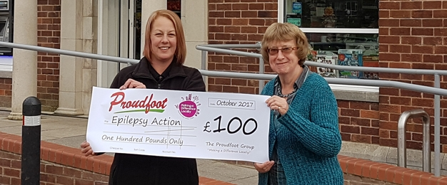 £100 MADL Donation To Epilepsy Action