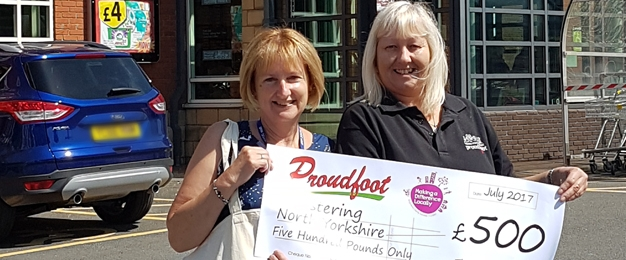 £500 MADL Donation To Fostering North Yorkshire