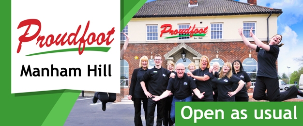 Proudfoot Manham Hill Store - OPEN AS USUAL