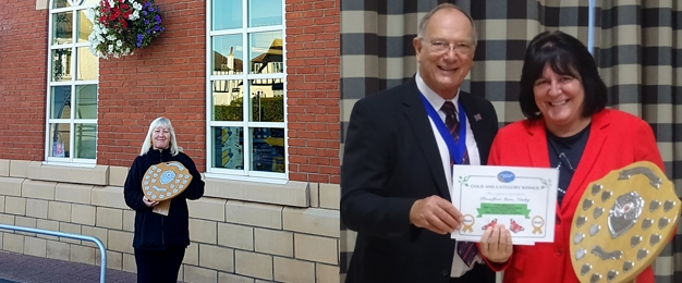 Proudfoot Win Two Newby & Scalby In Bloom Awards!