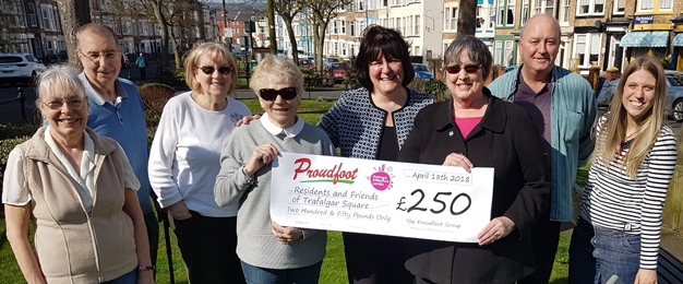 £250 MADL Donation To Residents And Friends Of Trafalgar Square