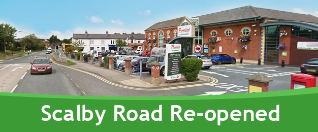 Scalby Road Re-opened