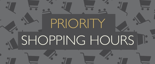 Priority Shopping Hours