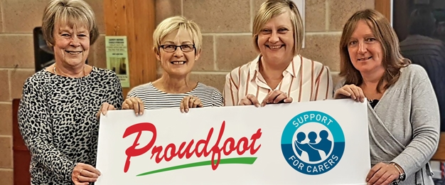 Proudfoot Shoppers Raise £2500 for Support For Carers