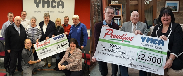 £2,500 Donation To YMCA Scarborough